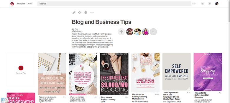 Tons of bloggers are talking about Pinterest and the wonders it has done for blog traffic. Learn more about how you can utilize Pinterest group boards to increase your traffic, even with a small following.